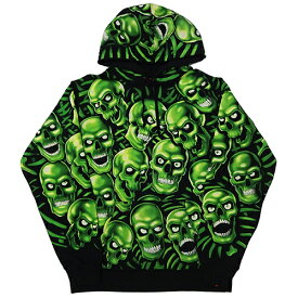 Supreme (シュプリーム) SKULL PILE HOODED SWEATSHIRT
