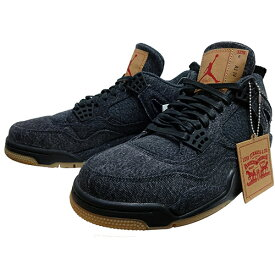 "NIKE (ナイキ ジョーダン) × LEVI'S (リーバイス) AIR JORDAN 4 RETRO LEVIS NRG ""BLACK DENIM"" 【AO2571-001】"