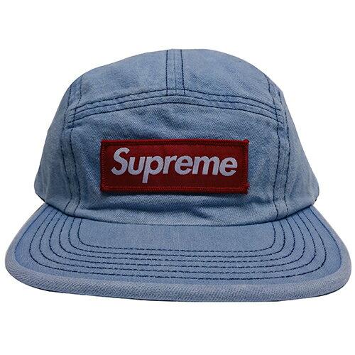 Supreme (シュプリーム) WASHED CHINO TWILL CAMP CAP