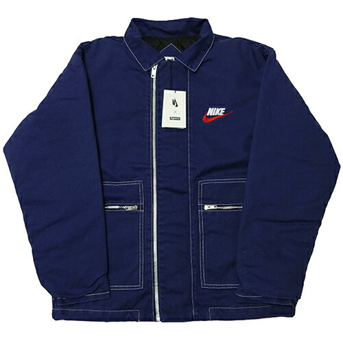 Supreme (シュプリーム) × NIKE (ナイキ) DOUBLE ZIP QUILTED WORK JKT