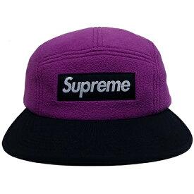 【中古】 Supreme (シュプリーム) POLARTEC FLEECE FITTED CAMP CAP