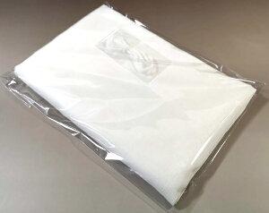 【手作りマスクセット】白ダブルガーゼ 丸ゴム付(綿100% 日本製 手作りマスクセット ホワイト 白ガーゼ 二重ガーゼ 生地80cm×40cm 丸ゴム80cm 手づくりマスク てづくりマスク)