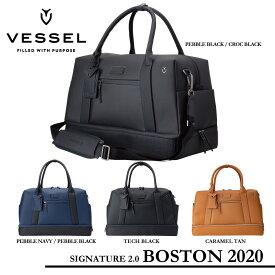 【VESSEL ベゼル】Signature 2.0 Boston 2020シグネチャー2.0 ボストン 2020【ボストンバック 高級合成皮革】3102119