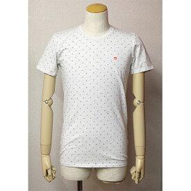 SCOTCH&SODA(スコッチ&ソーダ)総柄半袖Tシャツ杢グレー(プロバンス柄)