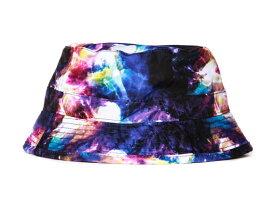 c9e9d952a62 STASH HAT-スタッシュバケットハット隠しポケット付き帽子(Purple パープルマルチカラー