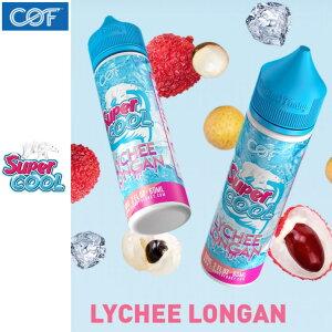 Cloudy O Funky Super Cool Lychee Longan 60ml ライチ フレーバー 清涼剤 メンソール COF 電子タバコ vape フルーツ リキッド マレーシア