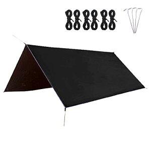 TRIWONDER タープ グランドシート 防水軽量 マルチシート たーぷテント 天幕 テントシート キャンプ アウトドア ブルーシート フット