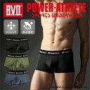 【WEB限定】 B.V.D. POWER-ATHLETE ミディアムハード ローライズボクサーパンツ BVD パワーアスリート スポーツ インナー PA320RR