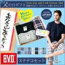 【送料無料】父の日ギフト BVD ステテコ Tシャツセット