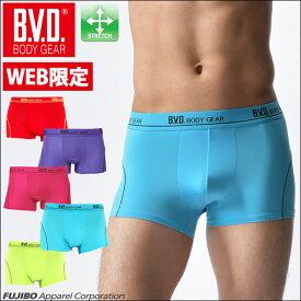 BVD BODY GEAR ボクサーパンツ ストレッチ素材 メンズ 【コンビニ受取対応商品】