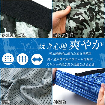 B.V.D.SELECT(セレクト)ボクサーパンツ(前とじ)/BVD/メンズ