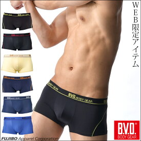 【メール便送料無料】BVD BODY GEAR ローライズボクサーパンツ ストレッチ素材 メンズ