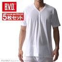 送料無料5枚セット!B.V.D.Finest Touch EX VネックTシャツ(M.L) 日本製 【綿100%】 シャツ メンズ インナーシャツ…