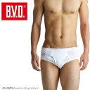 B.V.D.Finest Touch EX  天ゴムセミビキニブリーフ(S M L) 【日本製】 【綿100%】 メンズ 下着 抗菌 防臭【白…