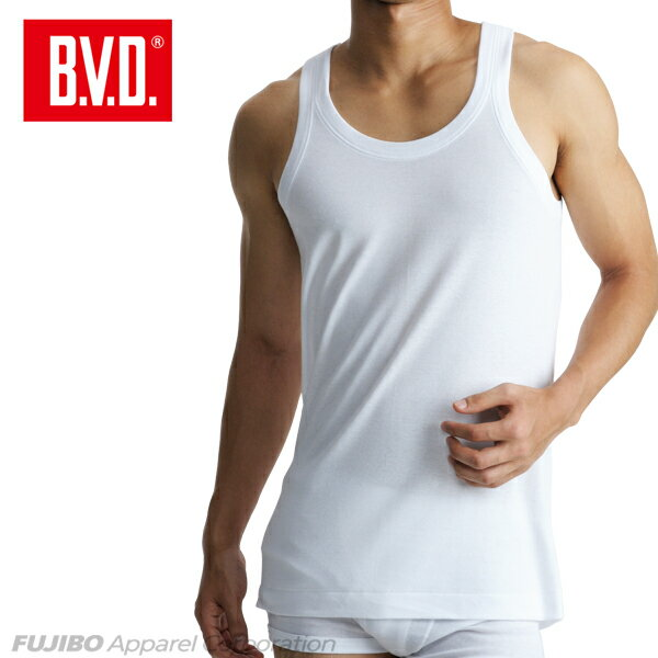 B.V.D.Finest Touch EX ランニング(LL) 日本製 【綿100%】 シャツ メンズ インナーシャツ 下着 抗菌 防臭【白】【日本製】 【コンビニ受取対応商品】 gn315