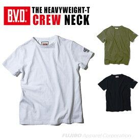 B.V.D. 日本製 ヘビーウエイト 綿100% クルーネックTシャツ ヘイルメリー Hail Mary gr590