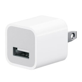 Apple 純正品 iPhone iPad 送料無料 5W USB電源アダプタ 充電器 PowerAdapter 【郵便ポスト投函商品】バルク品(本体のみ発送)1年3ヶ月保証【並行輸入品】