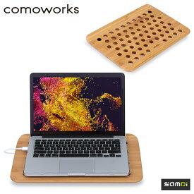 Macbook ノートPC 冷却ボード 木製 ノマド SOHO SAMDi サムディ