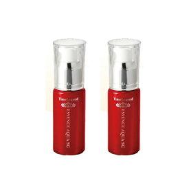 【2本セット5%OFF】赤いフラーレン美容液 フラーレン1% 幹細胞エキス 蛇毒シンエイクなど20種超えの美肌成分特濃高配合 タイムレジェンド エッセンスアクアSC(45mL) 2本セット スキンケア 基礎化粧品 セット 送料無料