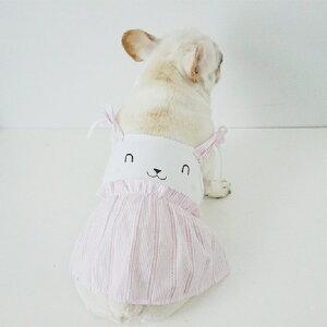 犬服 春 夏 ワンピース 中型犬 小型犬 大型犬 フレンチブルドッグ フレブル 犬 服 女の子 ピンク ワンピース スカート かわいい おしゃれ ネコ服 犬の服 KM171SK