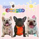 犬 夏 熱中症対策 ひんやり 犬用 クールベスト 保冷剤ベスト フレンチブルドッグ フレブル KM543G NEW