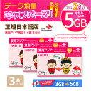東南アジア 3GB 3枚お得セット!China Unicom 東南アジア周遊SIMカード タイ/ベトナム/マレーシア他11ヵ国(3GB+2GB/8日)※開通期限20…