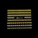ネイルシール ネイティブ ゴールド   ジェルネイル ジェル ネイルパーツ ネイル用品 爪 爪先 ネイルアート アートアク…
