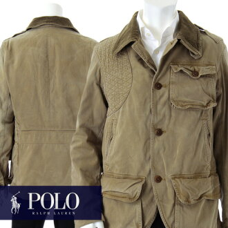 Hunting jacket /M,L/ field JK/ polo Ralph Lauren /POLO RALPH LAUREN/ss fs3gm where polo Ralph Lauren jacket this was particular about American vintage-style ★ detail thoroughly