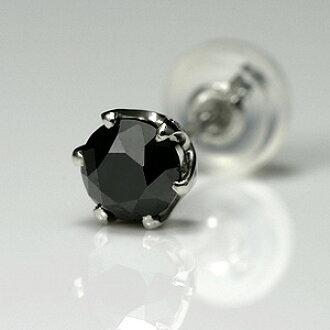 6b010d022df3a Jewel differentiation memo male popular black Shin pull one diamond pierced  earrings men black diamond for platinum pierced earrings men black diamond  ...