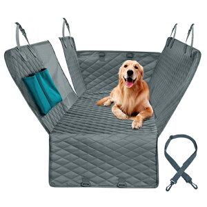 お取り寄せ【後頭部座席用】ブラック ドッグカーシートカバー 防水【ペット用 犬】犬用カーシートカバー 車 ペットシート