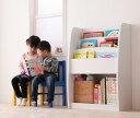 絵本棚 おもちゃ 絵本ラック 幅63cm 完成品 3段 組み立て 済み えほんだな 収納 CREA クレア おもちゃ箱 キッズ 子供 …