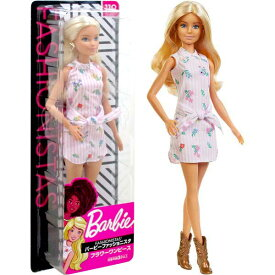 バービーファッショニスタ 119 フラワーワンピース【着せ替え人形 Barbie FASHONISTAS 女の子 ワンピース コレクション プレゼント お洋服 おしゃれ ファッション おままごと フィギュア】