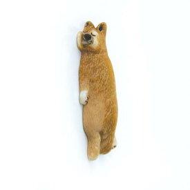 【メール便可】壁や冷蔵庫で気持ちよさそう♪ 壁ごこち 柴犬(しばけん)