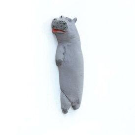 【メール便可】壁や冷蔵庫で気持ちよさそう♪ 壁ごこち カバ(かば)