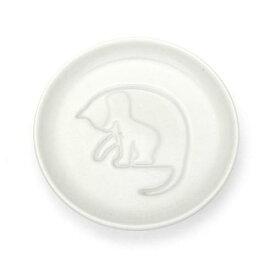 【メール便可】【食器】【ネコグッズ】醤油を注ぐと!?ネコ醤油皿 ころがす(転がす)【おもちゃ グッズ 雑貨 お土産 プレゼント おもしろ雑貨 誕生日 父の日 母の日 敬老の日 贈り物 ギフト 陶器 オシャレ しょう油皿 小皿 キッチン雑貨 猫 ねこ シルエット】