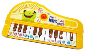 リズムdeピアノ【 おもちゃ 楽器 ピアノ演奏 メロディ 電池別売り 単3電池2本使用 音楽 ピアノ 子供用 キッズ ミニサイズ 引ける 奏でる 可愛い カラフル 女の子 男の子 プレゼント 誕生日 ク