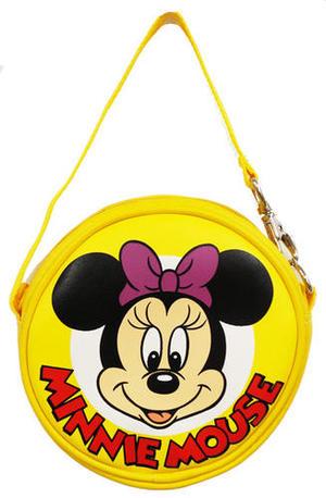 【 タイムセール】OH!MICKEY&FRIENDS モバイルおでかけポーチ ミニーマウス(M)【 ディズニー ドナルド ダッグ バッグ カバン バッグ 子供用 丸型 可愛い 人気 幼稚園 保育園 通園 鞄 バック Disney 男の子 女の子】60s