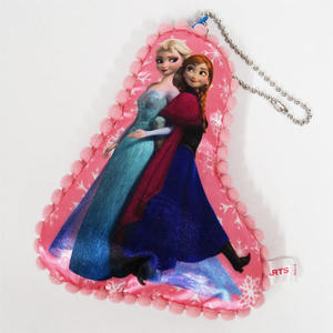 【 タイムセール 】アナと雪の女王 アナ&エルサ リフレクター【ディズニー プリンセス 反射板 安全 クッション 】