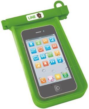 【 タイムセール 】LINE CHARACTER お風呂でスマホケース【 携帯 スマートフォン アイフォン ライン スタンプ おもちゃ LINE TOWN 】70s