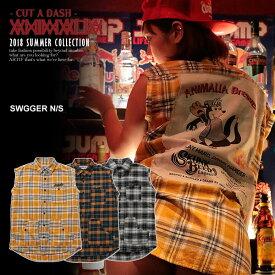 50%OFF SALE セール アニマリア シャツ ANIMALIA SWAGGER N/S【ストリート系 ファッション】
