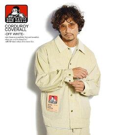 ベンデイビス カバーオール BEN DAVIS CORDUROY COVERALL -OFF WHITE- ストリート系 ファッション