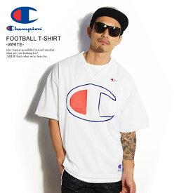 チャンピオン Tシャツ CHAMPION FOOTBALL T-SHIRT -WHITE- ストリート系 ファッション