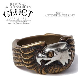 50%OFF SALE セール クラクト CLUCT ANTIQUE EAGLE RING cluct メンズ リング 指輪 アクセサリー ストリート【ストリート系 ファッション】