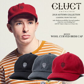 30%OFF SALE セール クラクト キャップ CLUCT WOOL CURVED BRIM CAP 【ストリート系 ファッション】