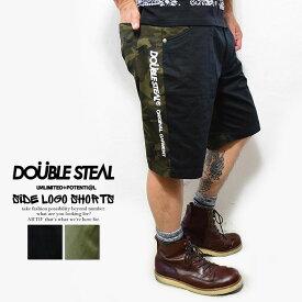 ダブルスティール ショーツ DOUBLE STEAL SIDE LOGO SHORTS【ストリート系 ファッション】