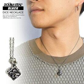ダブルスティール ブラック ネックレス DOUBLE STEAL BLACK DICE NECKLACE ストリート系 ファッション
