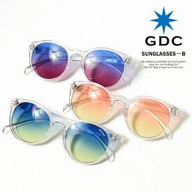 b2ca10d1e23594 GDC ジーディーシー SUNGLASSES-B メンズ レディース 眼鏡 サングラス カラーレンズ 伊達メガネ アクセサリー おしゃれ