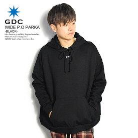 ジーディーシー パーカー GDC WIDE SWAT PARKA -BLACK- ストリート系 ファッション