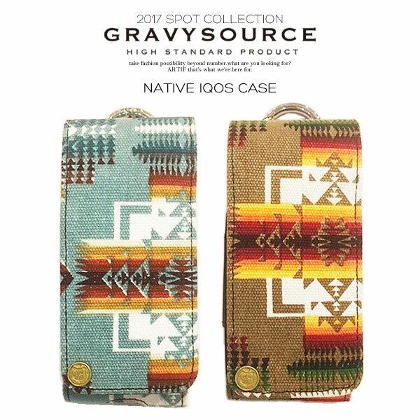 グレイビーソース アイコスケース GRAVYSOURCE NATIVE IQOS CASE