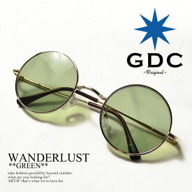ジーディーシー GDC WANDERLUST GGDC gdc メンズ レディース 眼鏡 サングラス 丸メガネ wanderlust ストリート系 ファッション おしゃれ 丸眼鏡 丸めがね めがね ARTIF シルバー フレーム アクセサリー メンズファッション レディースファッション